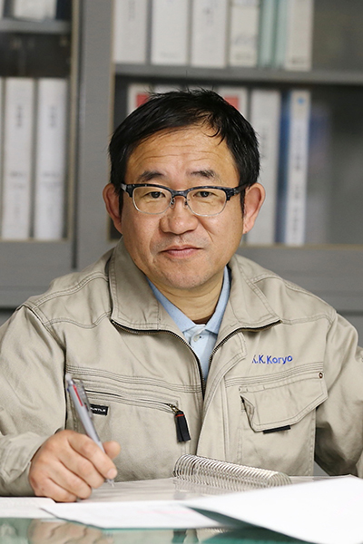 代表取締役社長 橋爪義彦